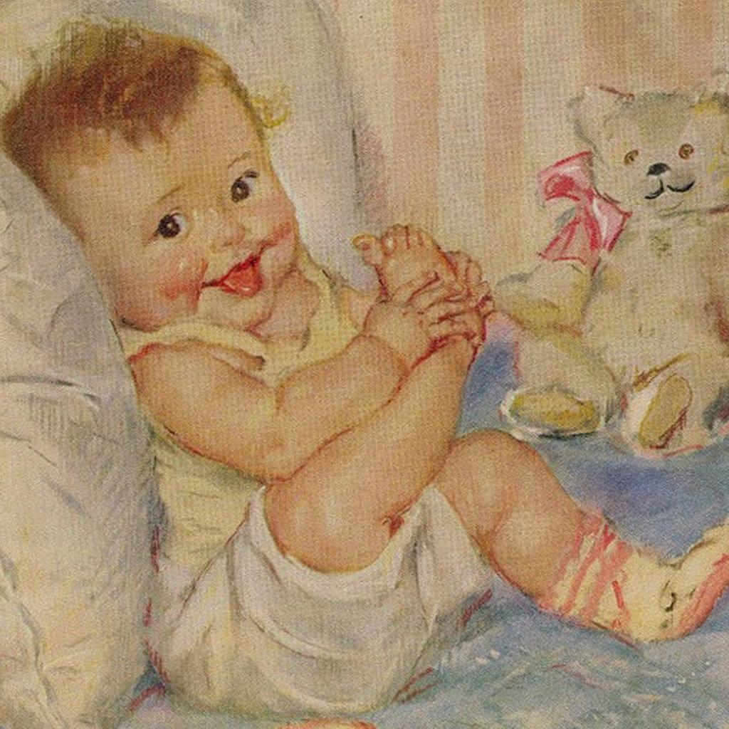 картинки для декупажа с ножками первой открытке решила